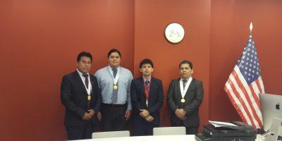 Sustentación de tesis, alumnos presentan diversos sistemas de investigación empresariales